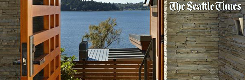 Lake House Two featured in The Seattle Times Pacific NW Magazine in May 2012
