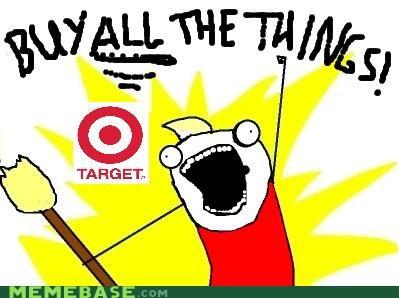 target buy all the things