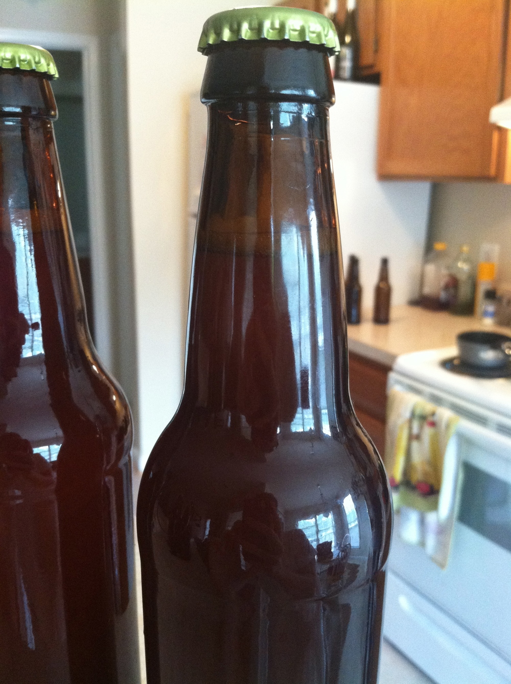 bottled homebrew