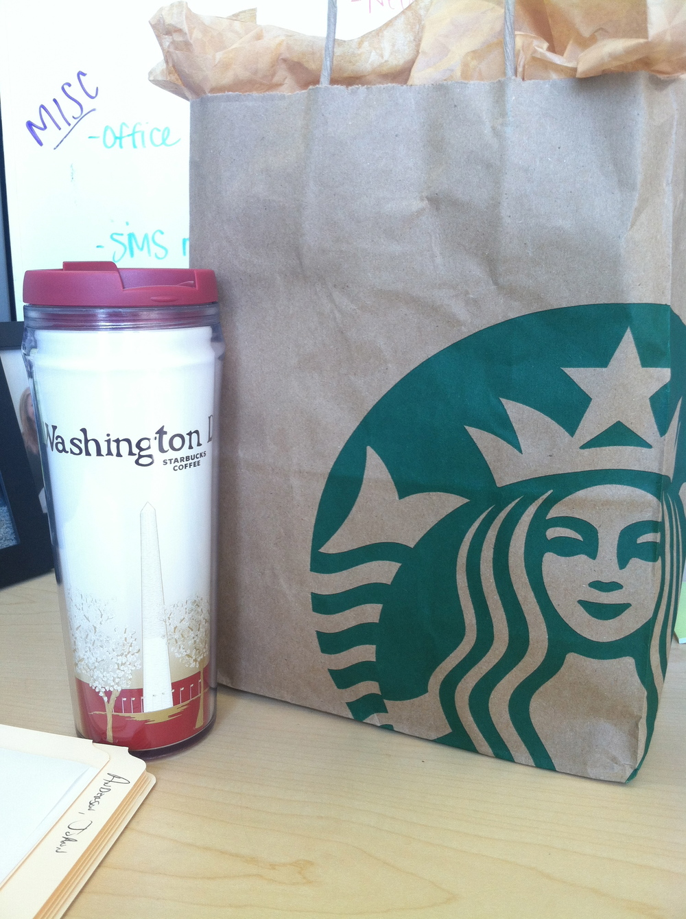 going away gifts from starbucks