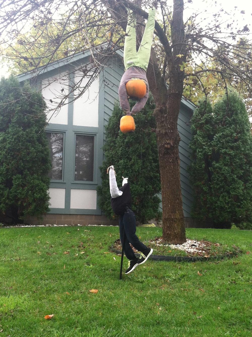 funny halloween decoration