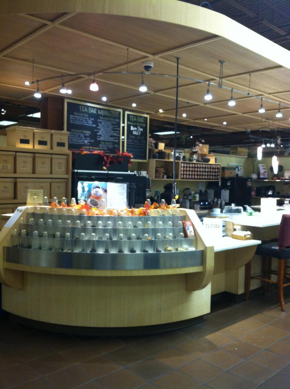 wegmans tea shop