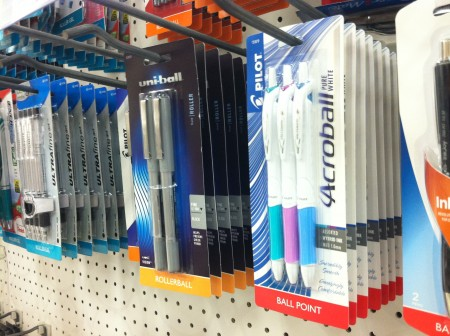 target pens
