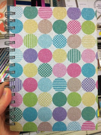 target polka dot notebook