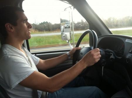 uhaul driving