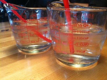 measuring cup drinking glass