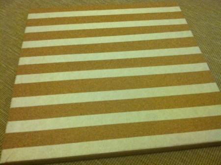 tape cork board