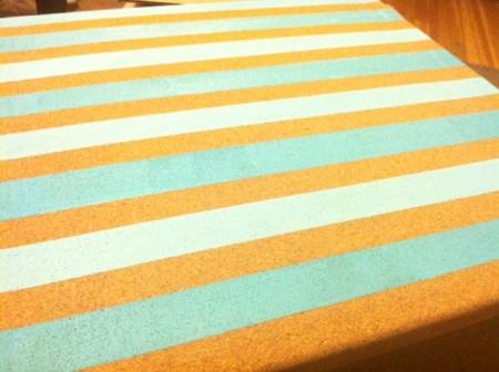 paint cork board