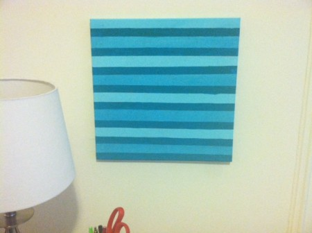 painted cork board