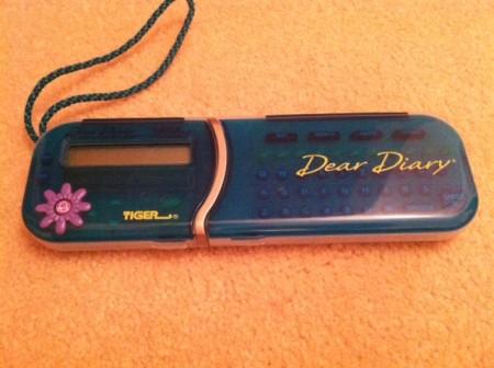 dear diary toy