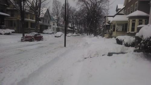 rochester snow