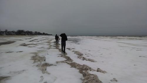 lake ontario snow