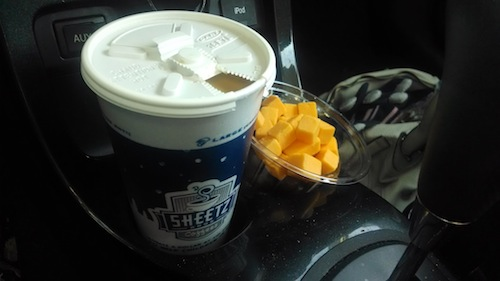 sheetz coffee and snack