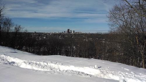snowy cobbs hill