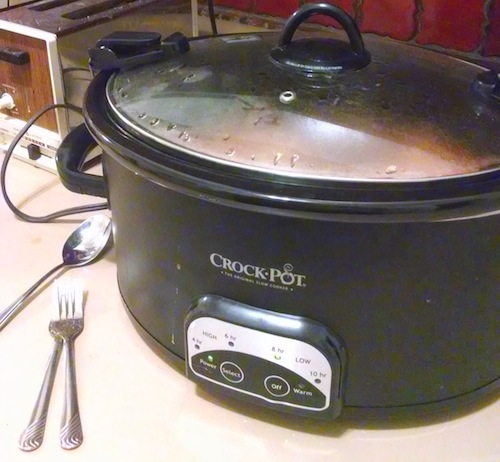 beans in crockpot