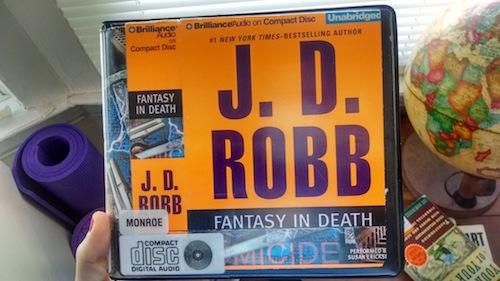 fantasy in death audiobook
