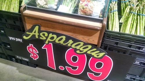cheap asparagus