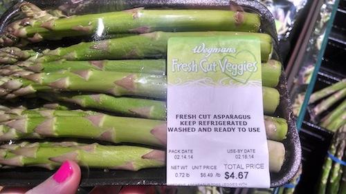 crazy expensive asparagus
