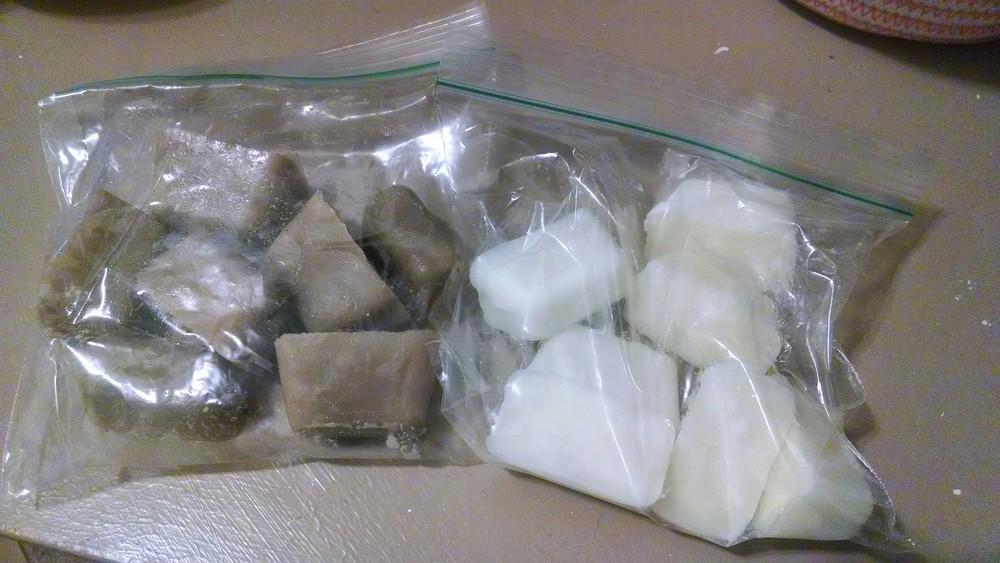 frozen coffee creamer cubes