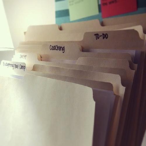 unused folders