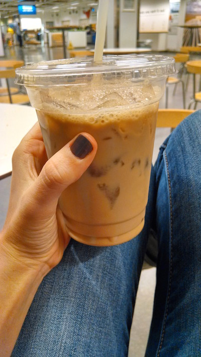 ikea-iced coffee