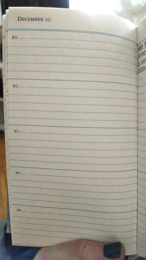 5-year-diary-page