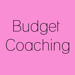 budget coaching icon