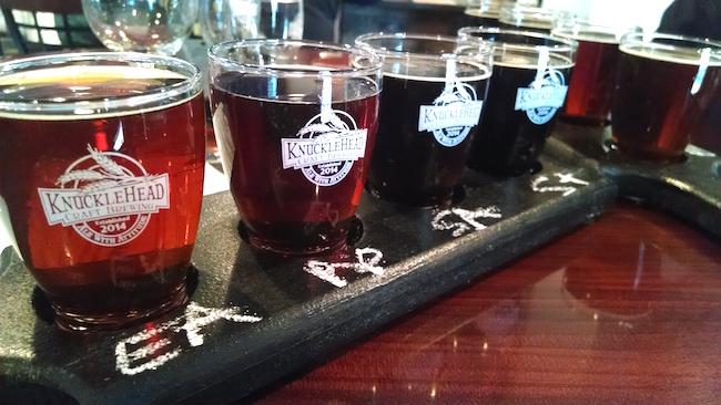 knucklehead brewery tasting