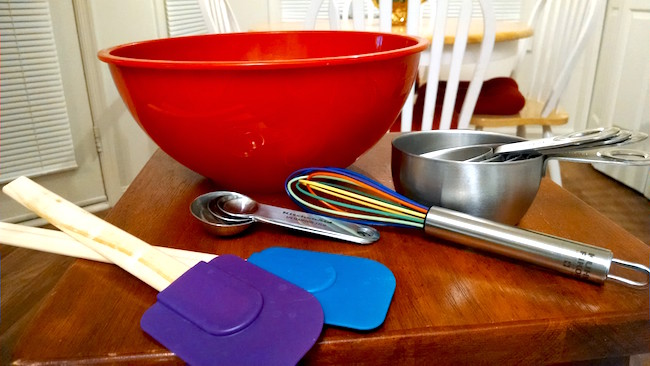 pantry-staples-bowl-whisk-spatula-measuring-spoons