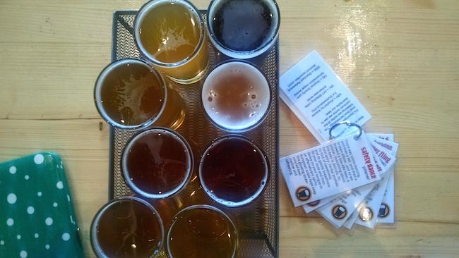 smartmouth-brewery-flight