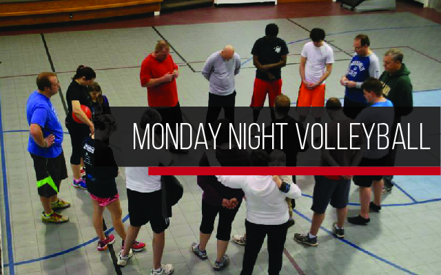 Volleyball - Every Monday evening at 6:00 pm in the gym. Please contact Ian Fancher at 260-726-5580 or Keith Gary at 729-1025 with any questions.