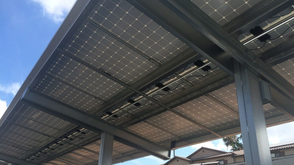 Solar Installation At Liberty RV Park - Anaheim, California
