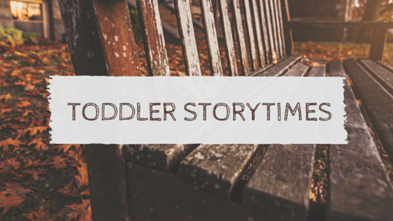 Toddler Storytime Week One