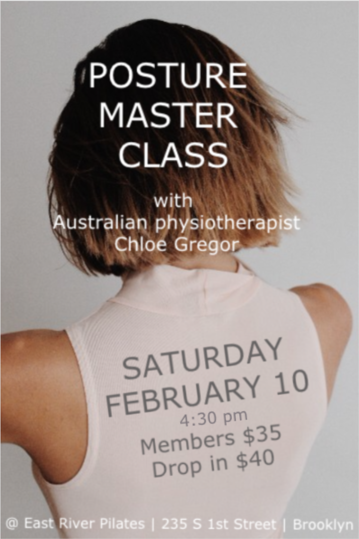 Posture Master Class