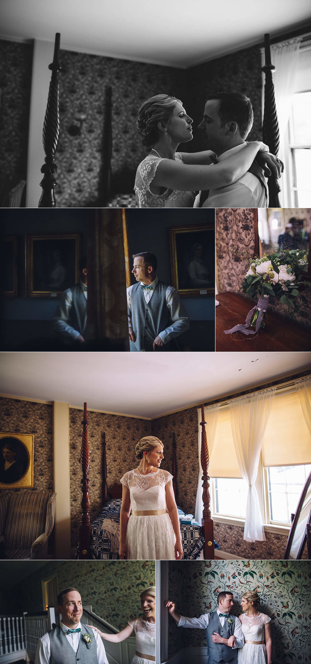 Click image to view Loring house wedding!
