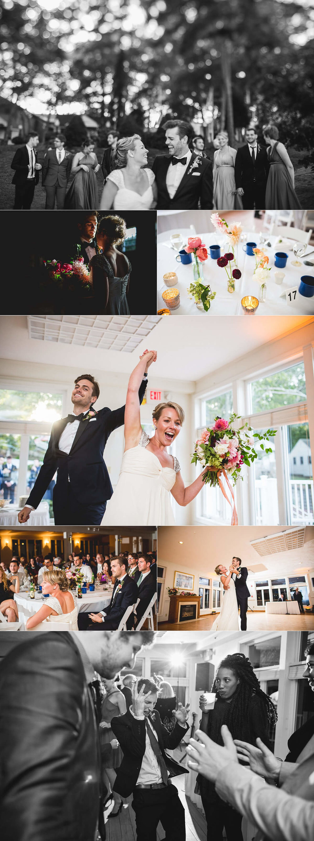 Click image to view full Bournedale wedding post!