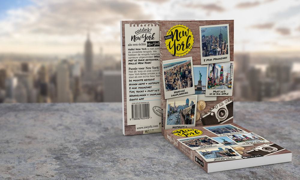 Co-author of Hallo! New York - NWYRK Media (October 2018)