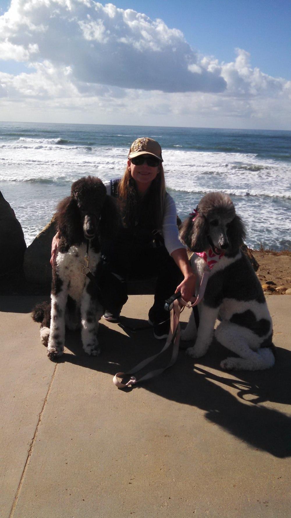 Karen with Truman and Sylvie.jpg