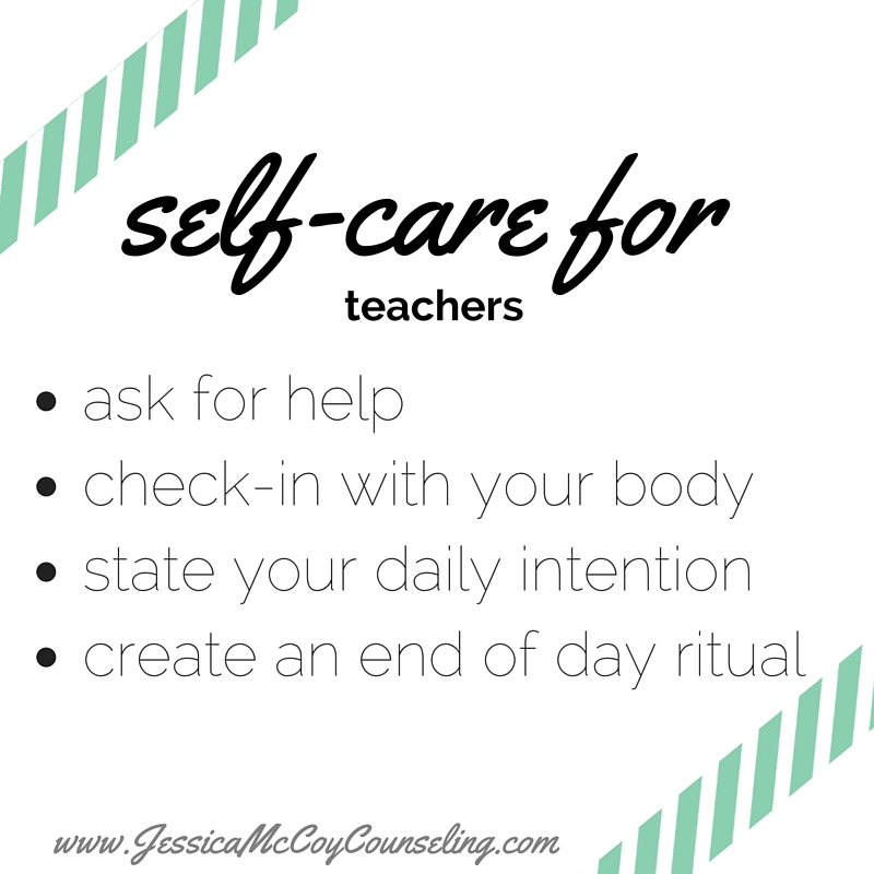 Self-Care for Teacher | Nashville, TN | Counseling