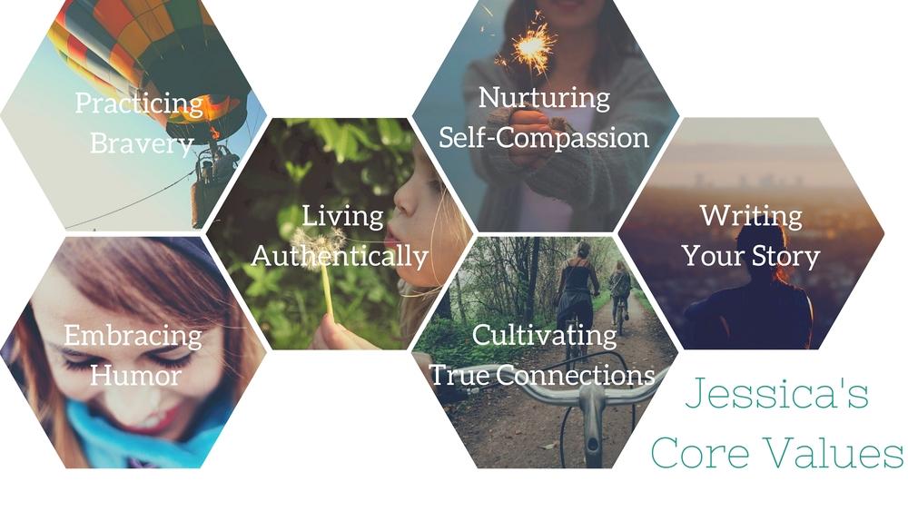 Jessica McCoy Core Values | Nashville Therapy