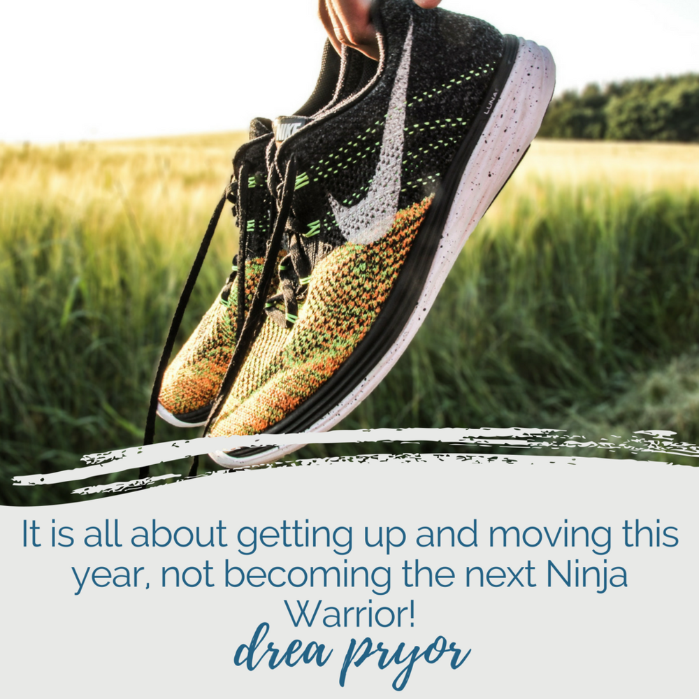 It is all about getting up and moving this year, not becoming the next Ninja Warrior! Drea Pryor | nashville self-care series