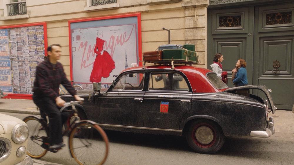 My watercolor Dior & Paris, featured on Season 2 of The Marvelous Mrs. Maisel episode 1 & 2 set in Paris.