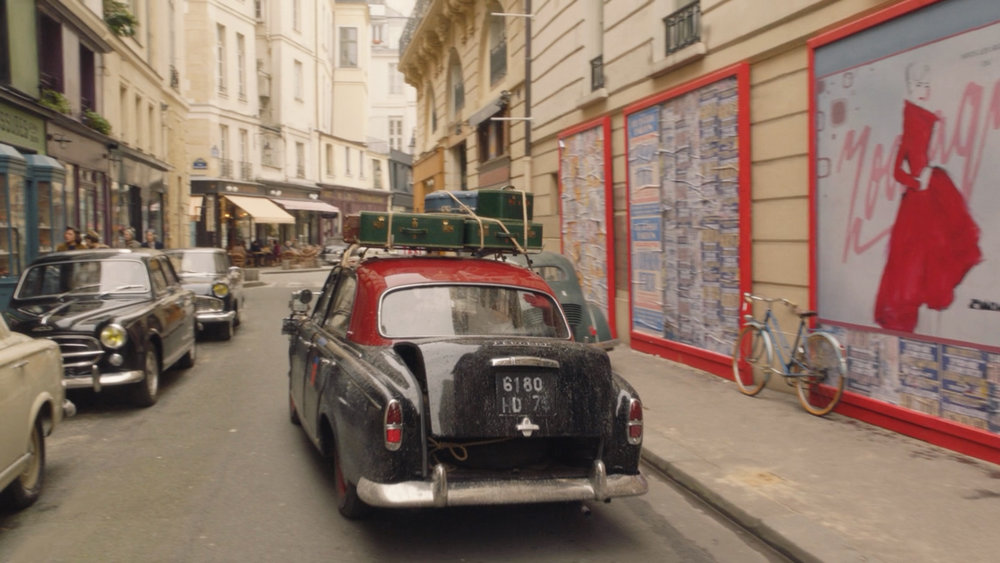 Parisian street with my art.jpg