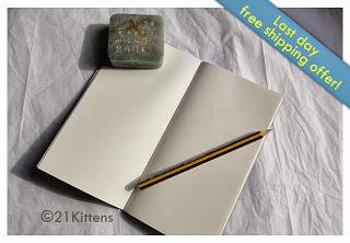 sketchbook for Midori Traveler