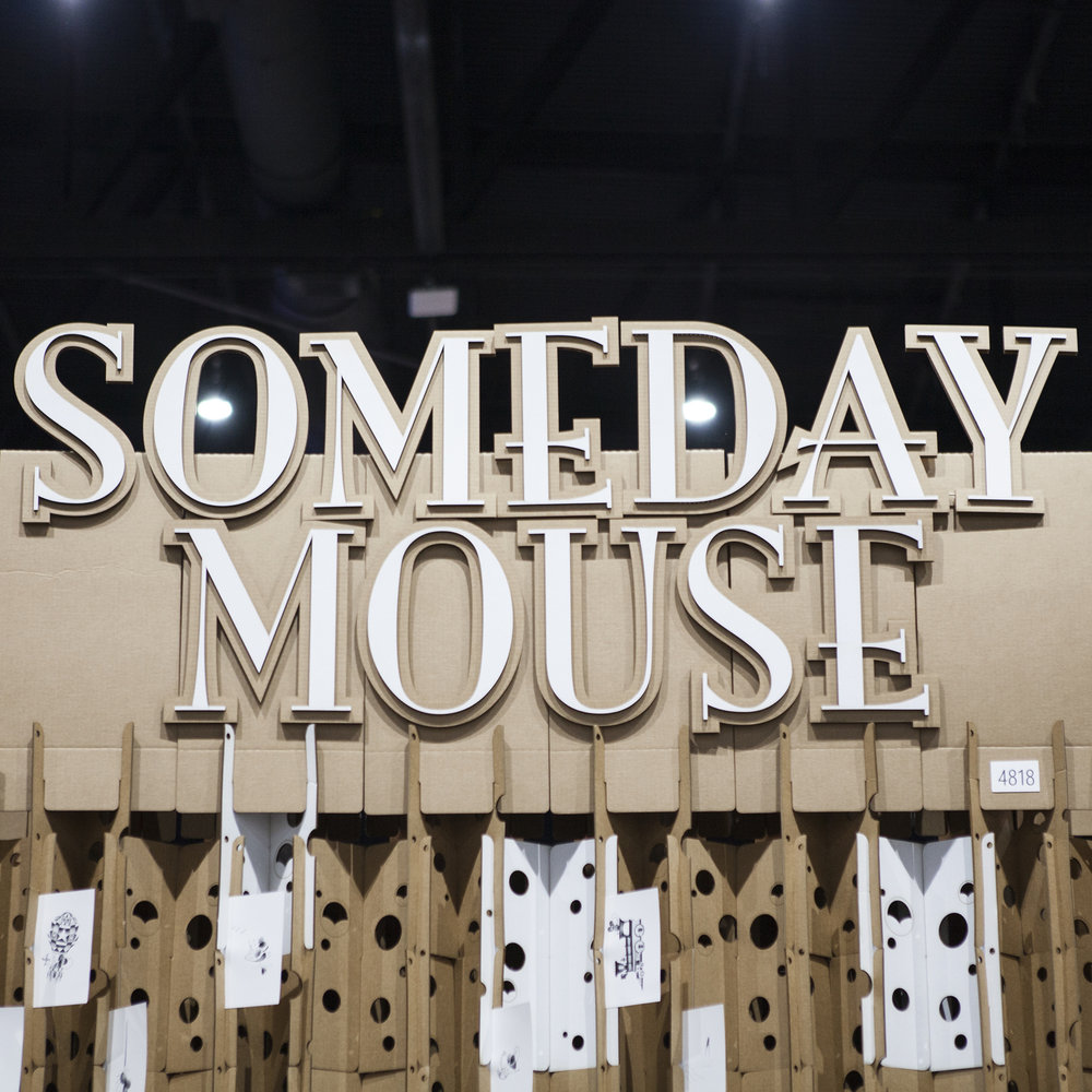 SOMEDAY MOUSE x MTRL DSGN @ SDCC17
