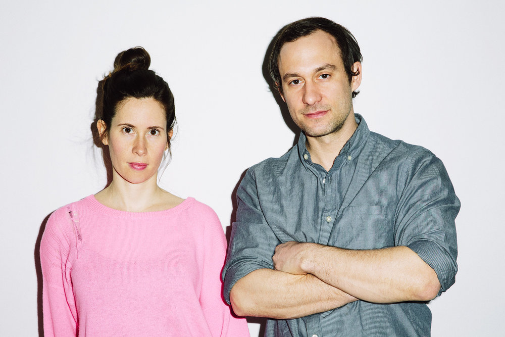 Hilary Schaffner and Ryan Wallace, Founders, Halsey McKay Gallery. Photo: Eric T. White.