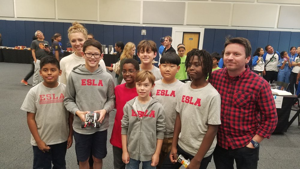 Congrats to our Middle School Robotics Club, which competed over the weekend in the First Lego League!
