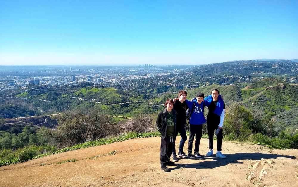 Lab Day atop Mt. Hollywood!