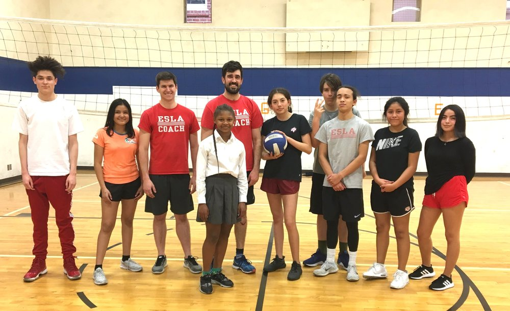 Open-gym volleyballers!