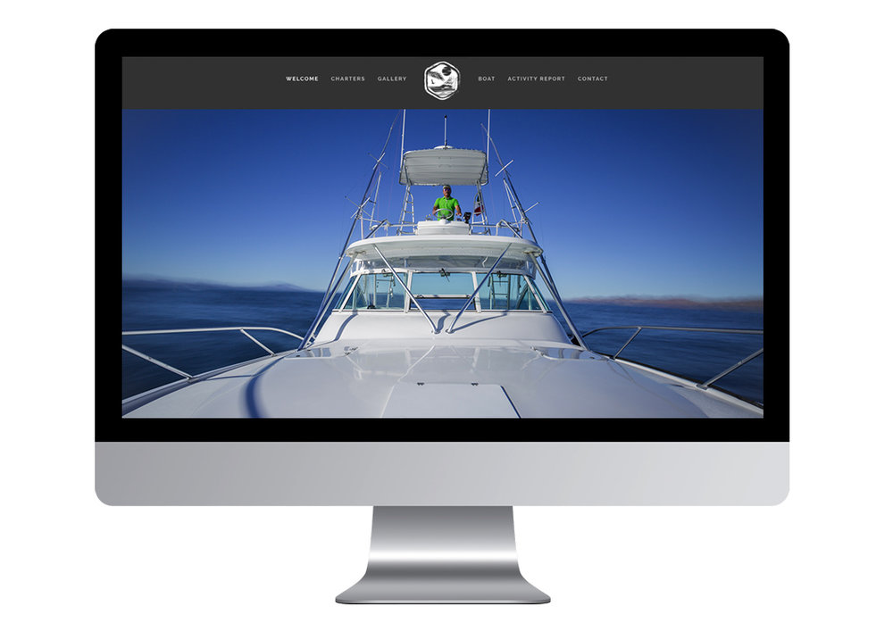 Outpost Charters - Discover in 7 steps how strong imagery, cohesive branding and intuitive web design features turned this start up charter business into an overnight success.Learn more